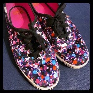 Kate Spade x Keds Confetti Sneakers - Size 8